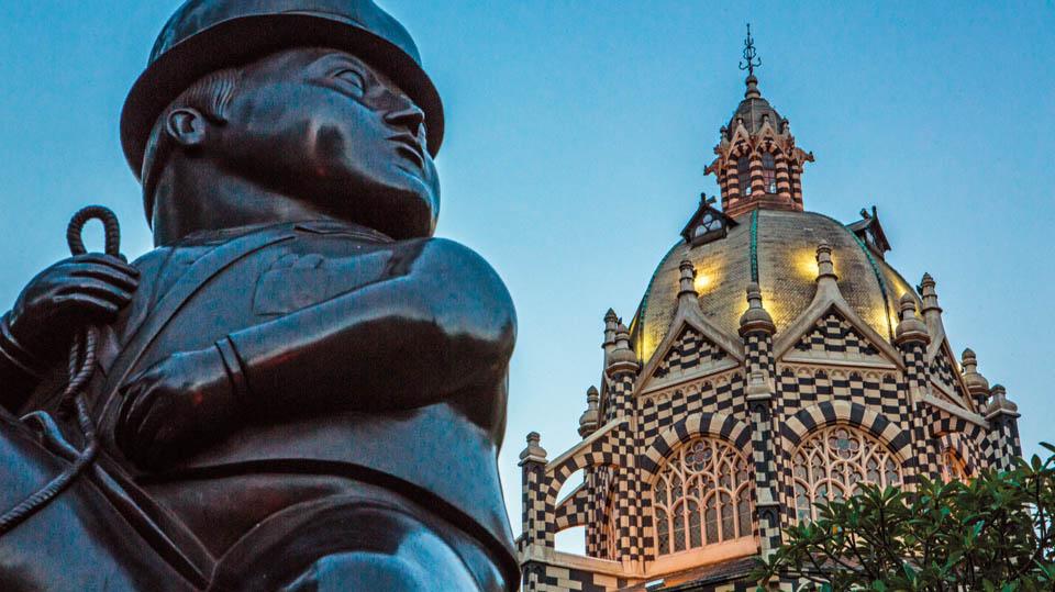 Air Europa inaugura su ruta Madrid Medellin