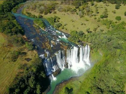 Cachoeira do Rio Claro ou da Fumaça