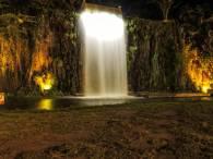 Cascada Artificial del Parque Cantera