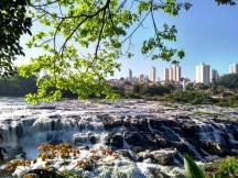 Salto do Rio Piracicaba/ foto Isabela M. Godoy