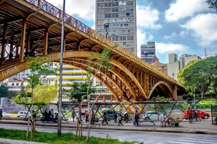 Viaduto Santa Ifigênia/ foto Marcos Antonio de Lima