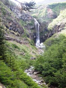 Cascada Escondida/ foto Elsa Opel