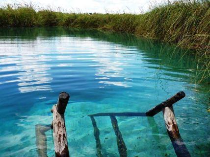 Nascente do Riachão Lagoa Azul/ foto Vinícius Alisson