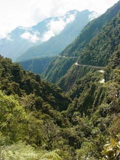 Carretera de La Muerte (Camino a Los Yungas)/ foto Adam Jones