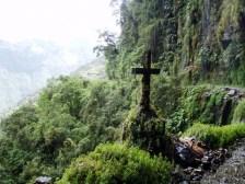 Carretera de La Muerte (Camino a Los Yungas)/ foto Benjamin Dumas