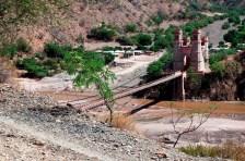 Puente Arce sobre el Río Pilcomayo