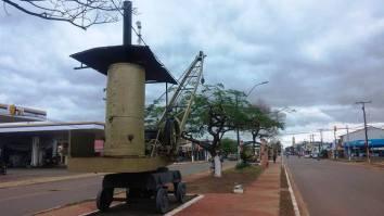 Museo al Aire Libre con Antiguas Locomotoras y Máquinas Pesadas