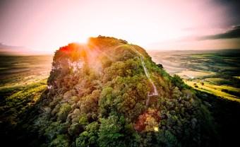 Morro do Pico Agudo/ foto JS Drones