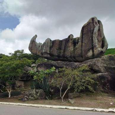Pedra do Navio/ foto Ana Regina Araujo
