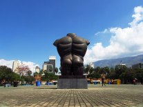Parque de las Esculturas de la Plaza Botero/ foto Felipe Restrepo Acosta