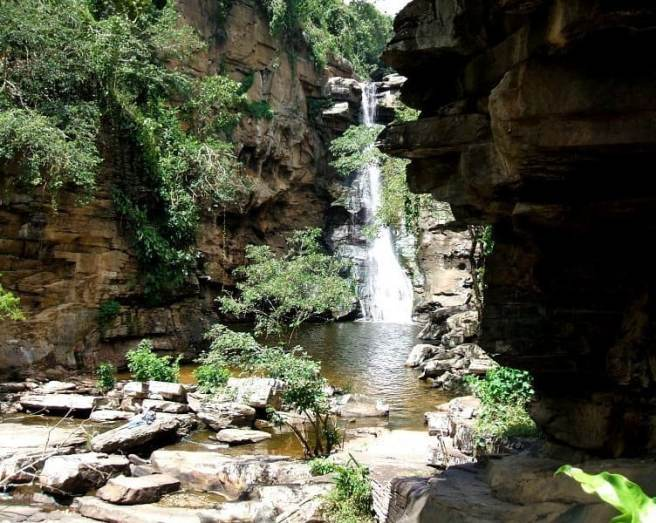 Cachoeira do Poção de Pedras/ foto Salvio Reis