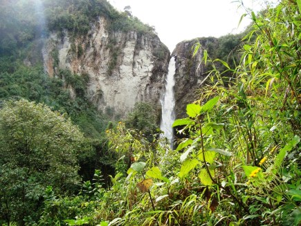 Cascada Los Molinos/ foto Germán Amariles