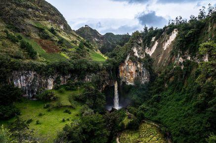 Cascada de Tajumbina/ foto Jeyson Diaz