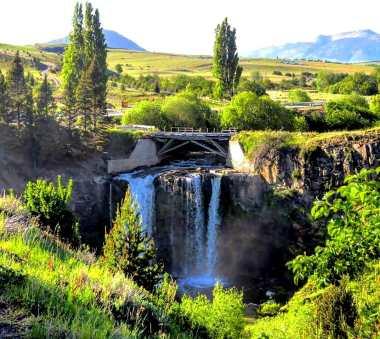Salto del Río Pollux/ foto Froilán Munoz