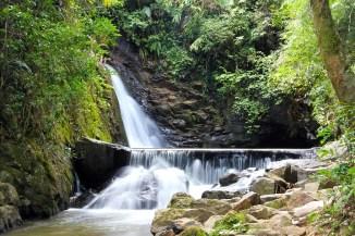 Cachoeira Toca das Andorinhas/ foto Valter Alessandro Agostini