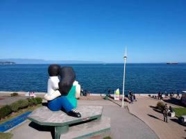 Sentados Frente al Mar