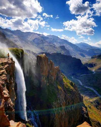 Cascada del Arcoiris o Cascada Invertida
