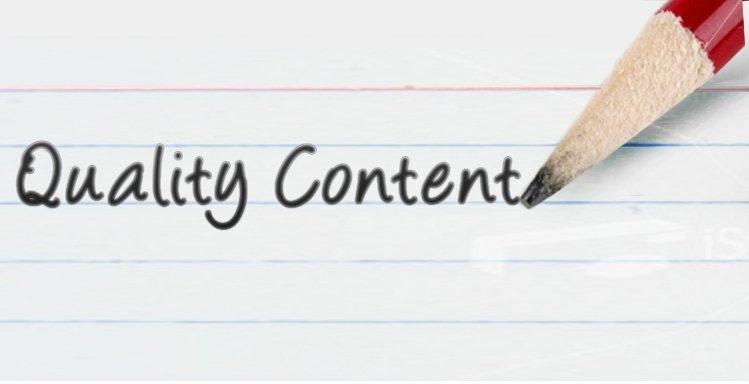 Conteúdo online de Qualidade
