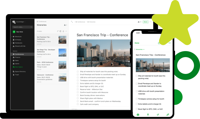 aplicativo evernote