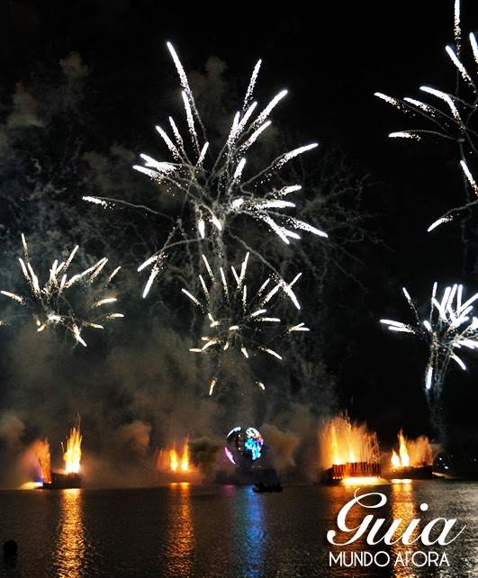 Show de fogos do Epcot