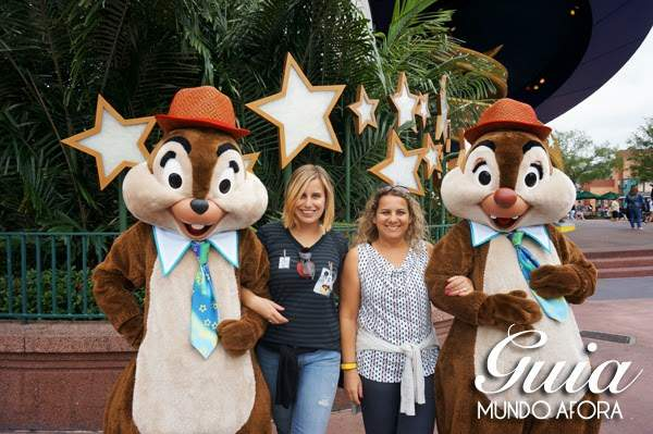 Tico e Teco no Magic Kingdom