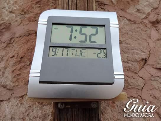 temperatura geyser del tatio