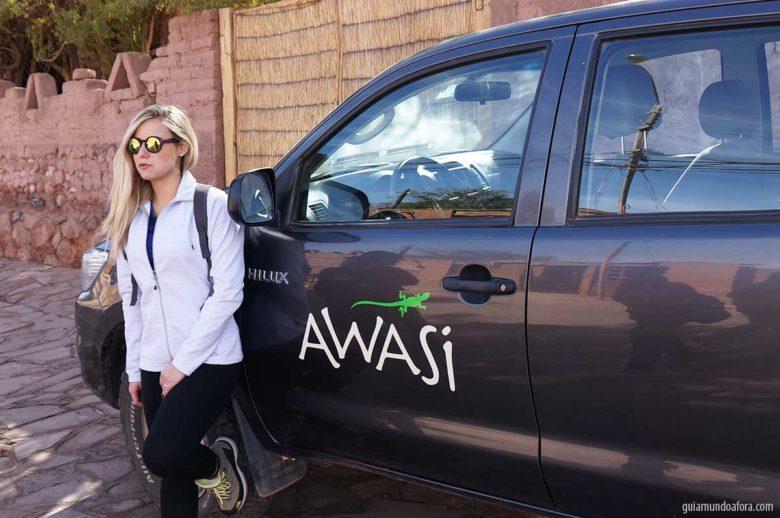 carro exclusivo Awasi Atacama