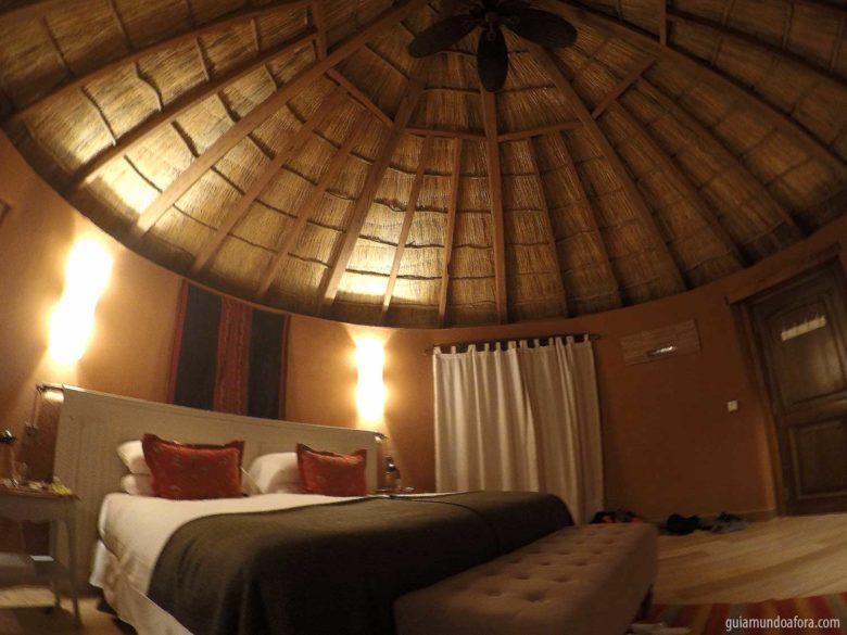 quarto do Awasi Atacama