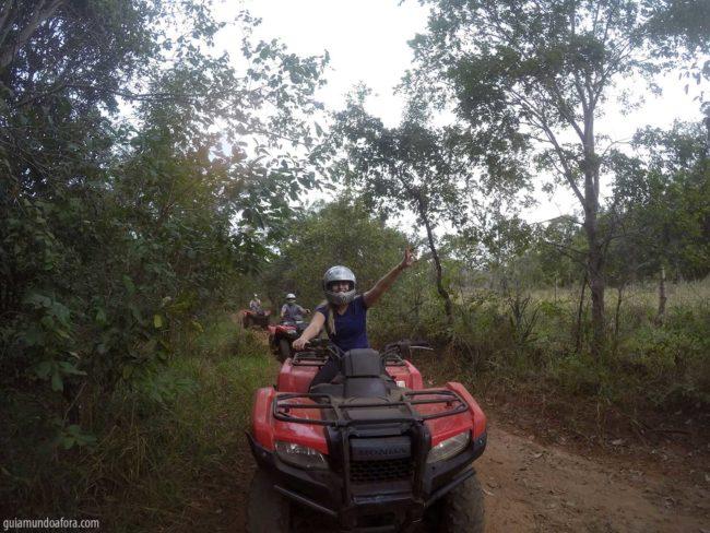 trilha boiadeira quadricilo em Bonito