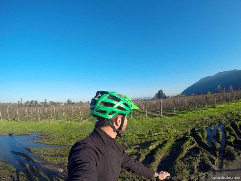 bike pela vinícola Lapostolle