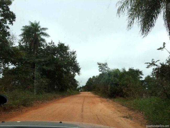Estrada em Bonito