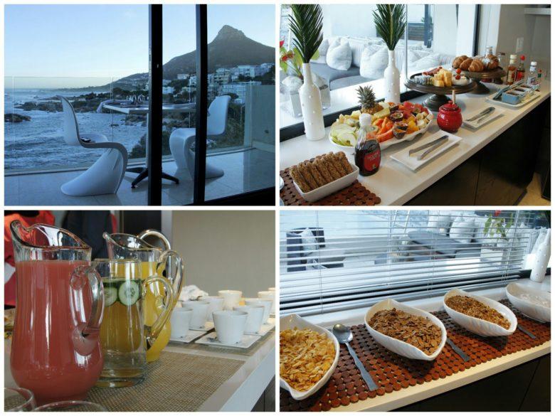 café da amanhã em hospedagem em Cape Town