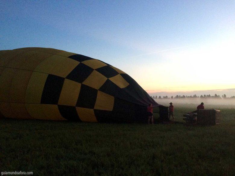 balão em Orlando