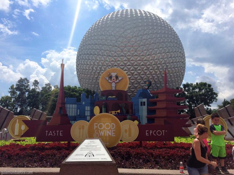 Food and Wine no Epcot