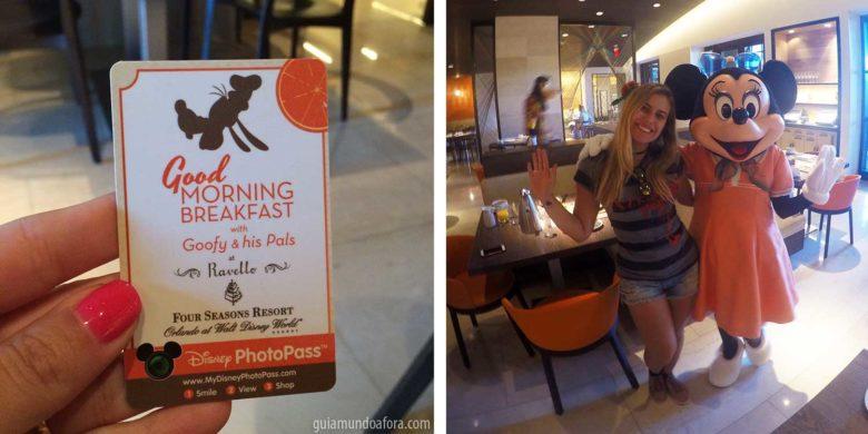 Café da manhã no Four Seasons Orlando