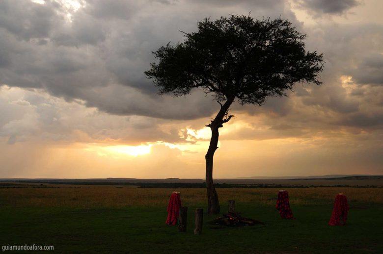 Sundowner Masai Mara