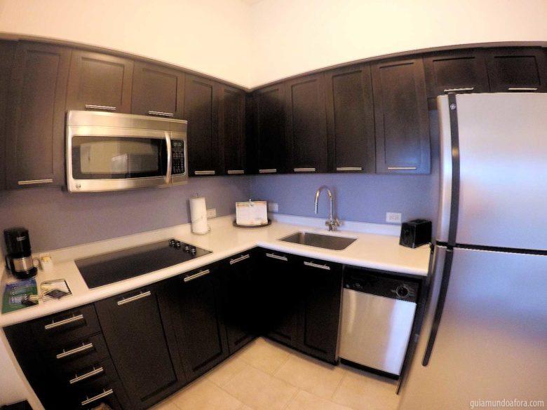 cozinha de hotel para famílias em Orlando