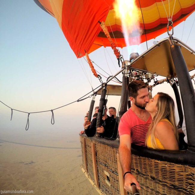 Passeio de Balão em Dubai