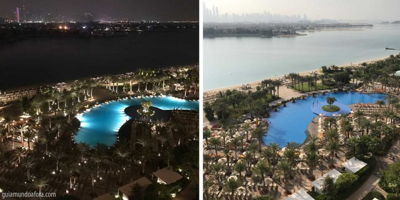 visual do quarto do Atlantis em Dubai
