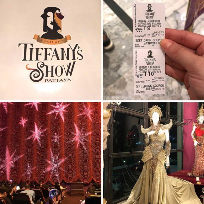 Taffanys show em Pattaya na Tailândia