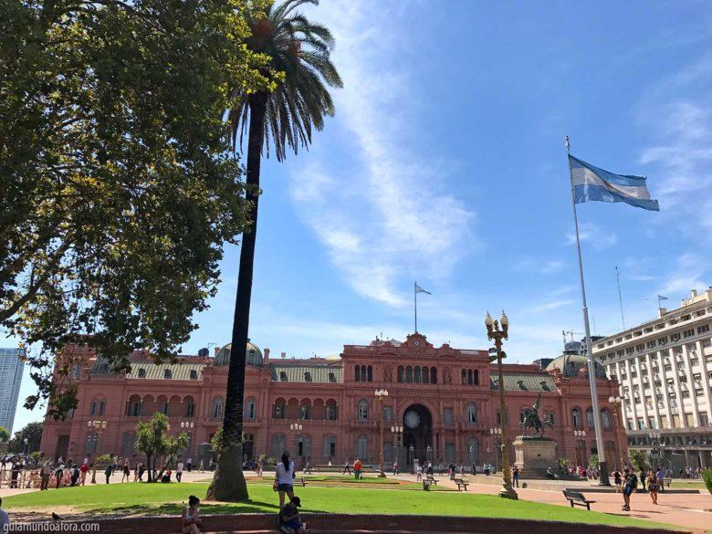 Tour pela Casa Rosada