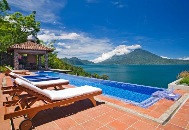 piscinas incríveis ao redor mundo: Casa Palopó