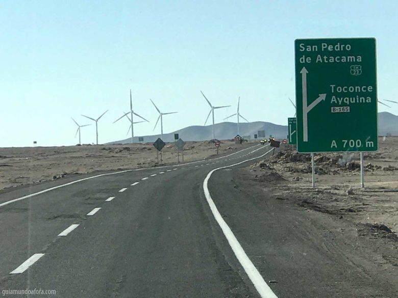 Como chegar no Atacama
