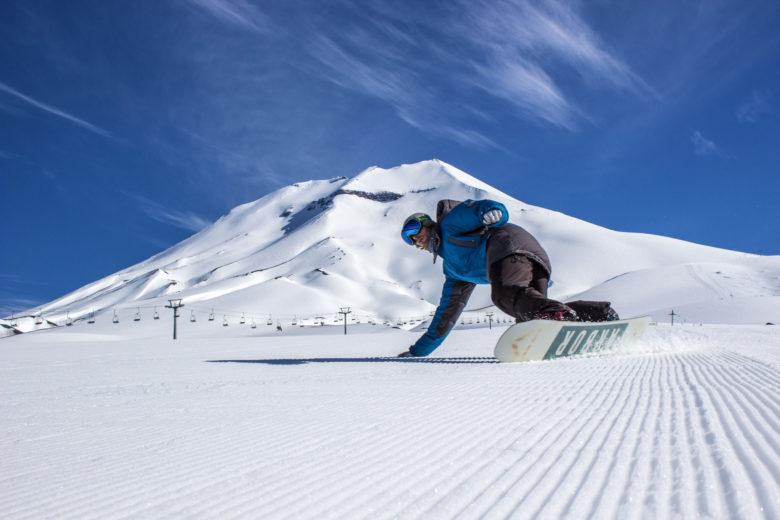 snowboard no corralco