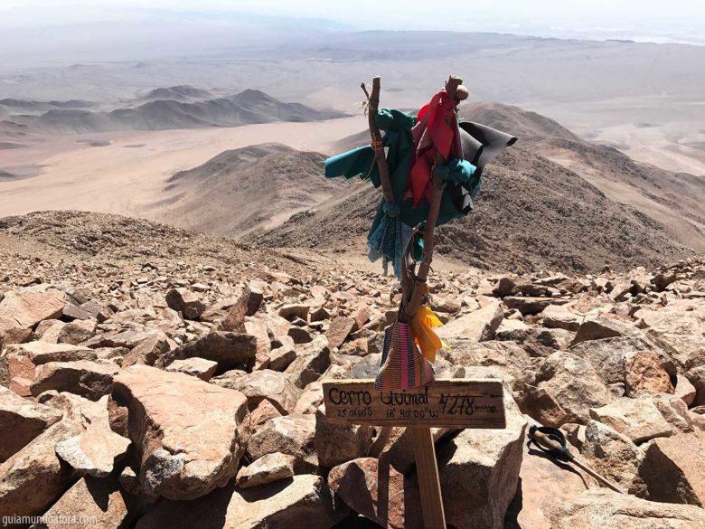 Ttrekkings no Atacama Cerro Quimal