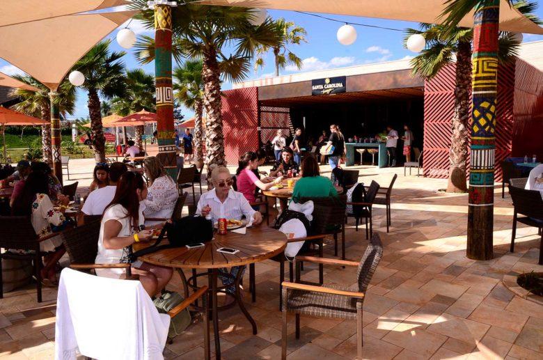Restaurante no Hot Beach Olímpia