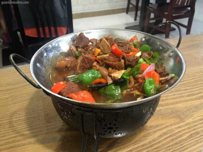 comida na China