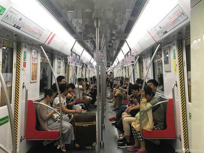 metrô na china