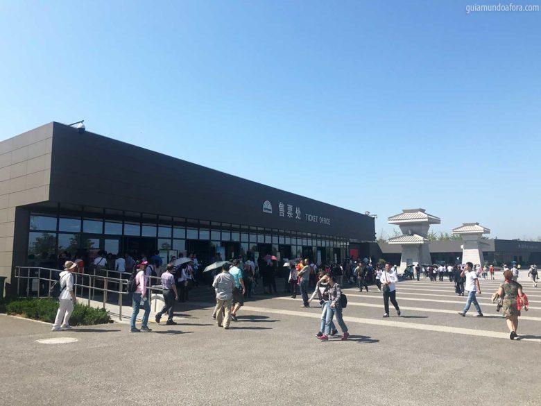 ingressos dos Guerreiros de Terracota em Xian