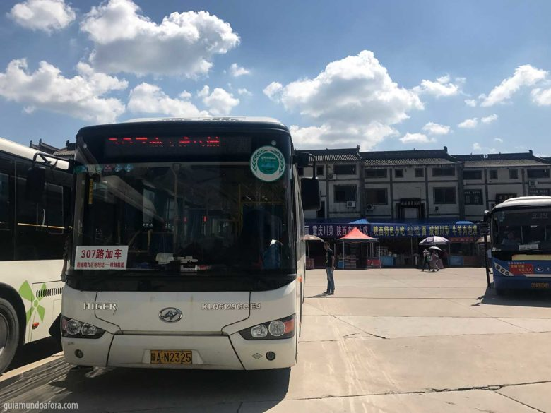 ônibus para guerreiros de Terracota em xian